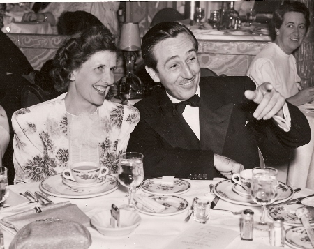 Walt and Lillian Disney