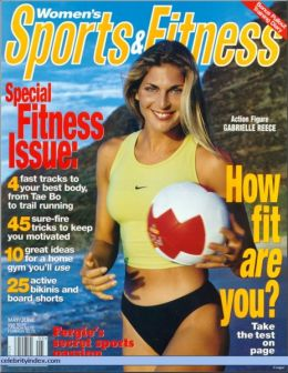 gabrielle reece sports and fitness mag cover